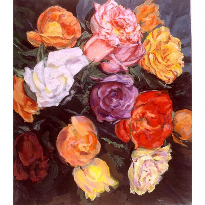 He Brought Me Roses (A Still Life Painting)