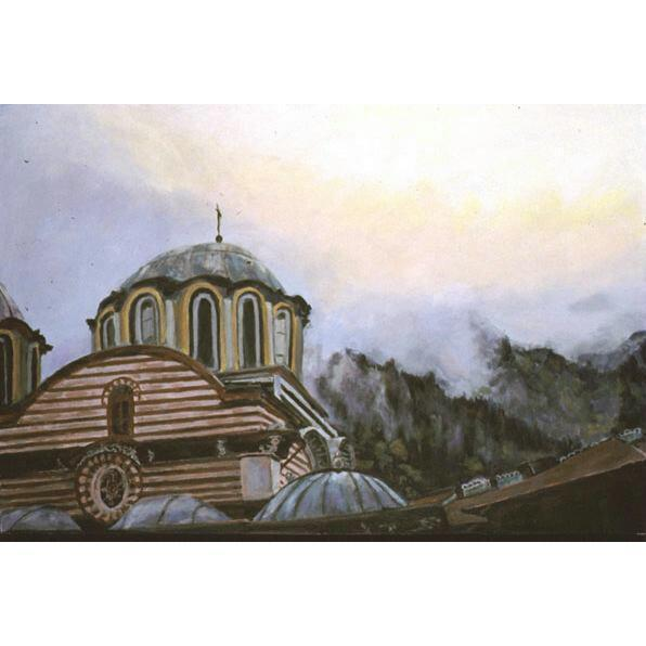 Sky Over Rila (A  Bulgarian Landscape)