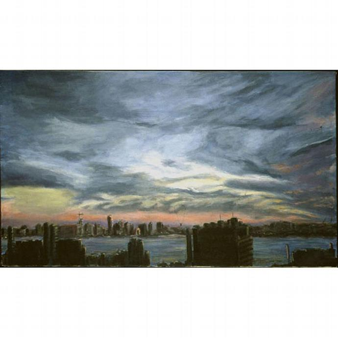 The Jersey Side II (A Cityscape of New York)