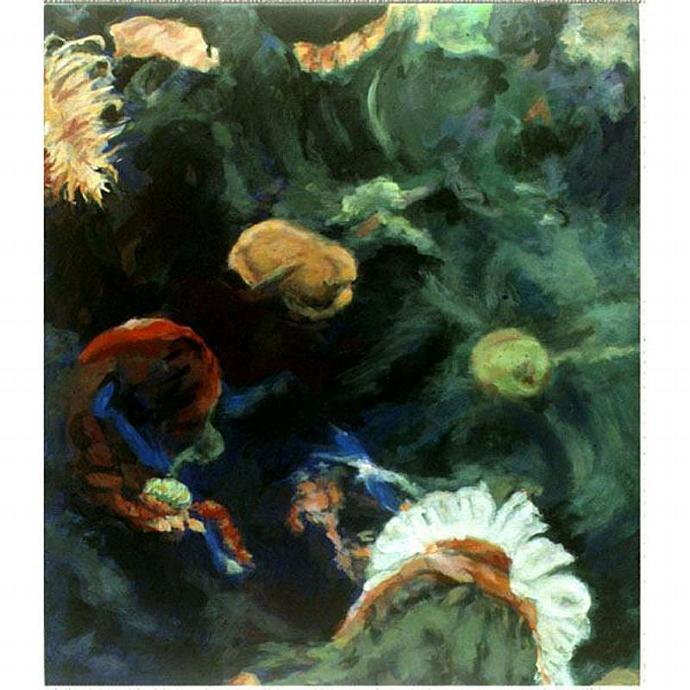 In The Deep IV  (An Original Aquarium View)
