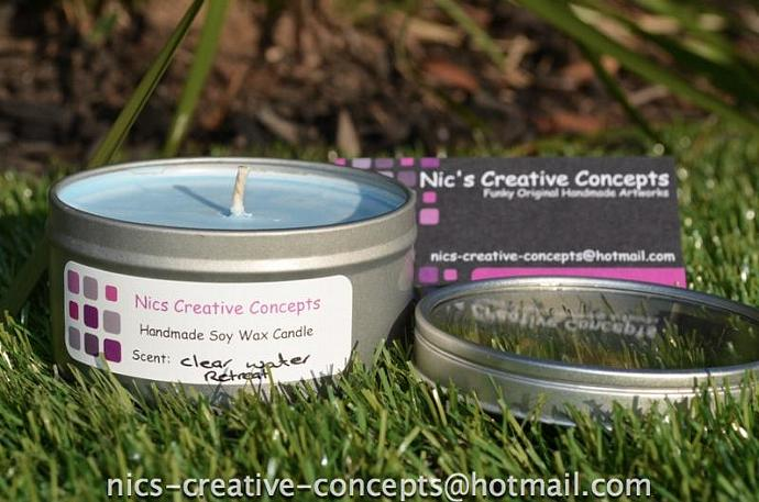 100% Natura EcoSoya Candle - Clear Water Retreat