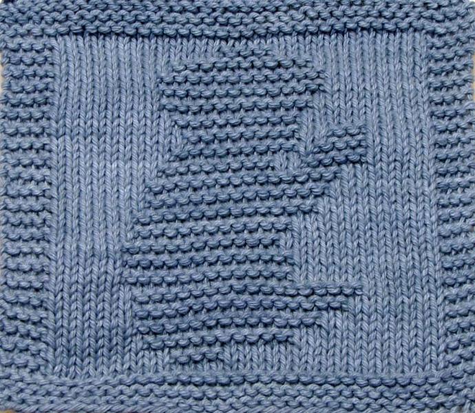 Knitting Cloth Pattern - KOALA BEAR - PDF