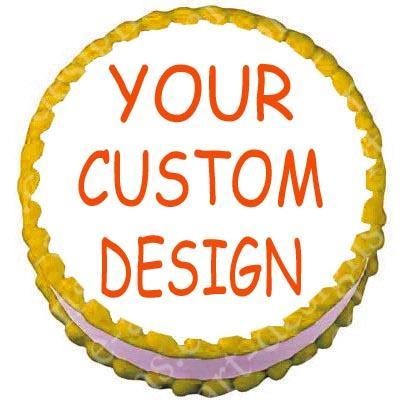 Design Your Own 8 inch Round Cake Toppers
