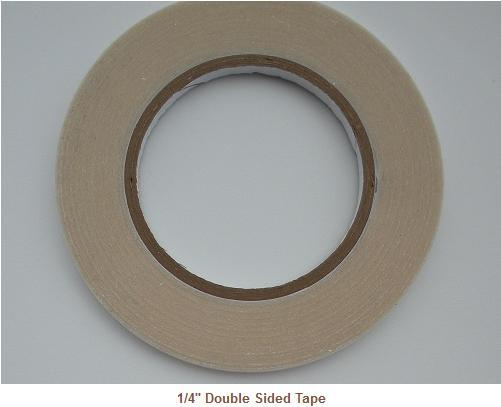 "1/4"" Double Sided Tape --- ZIBBET"