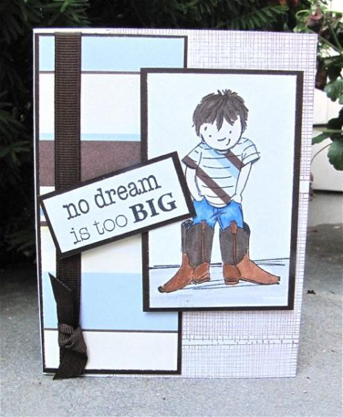 All Occasion Greeting Card -no dream is too BIG