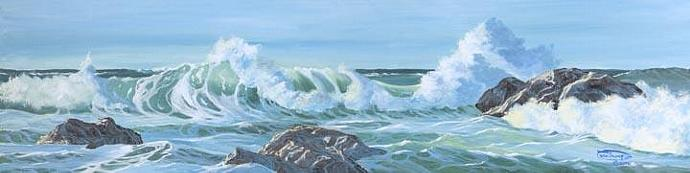 """""""Spirits Of The Sea"""" Giclee Paper Print by Carol Thompson"""