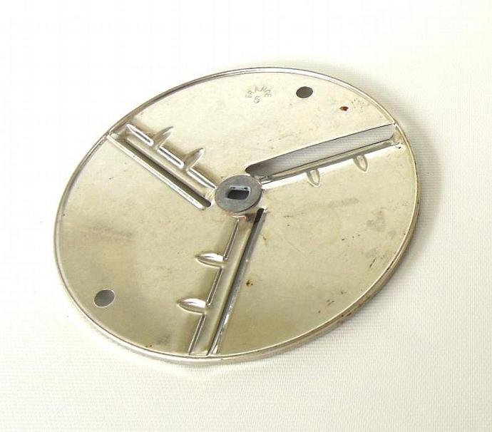Mouli Julienne Replacement Part Disk 5 Slicer Vintage