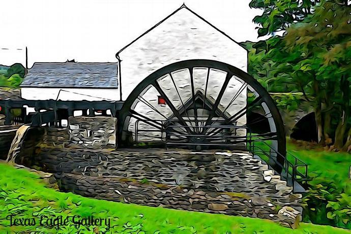 New Mills fine art print