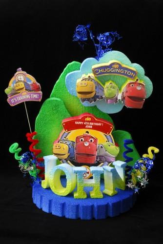 CHUGGINGTON CAKE TOPPERCENTERPIECE by adianezh on Zibbet