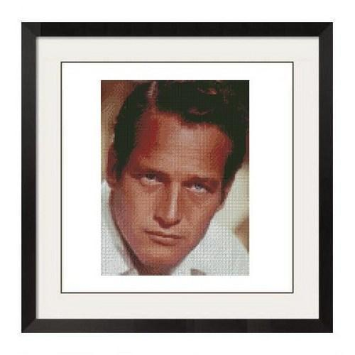 ALL STITCHES - PAUL NEWMAN CROSS STITCH PATTERN .PDF -227