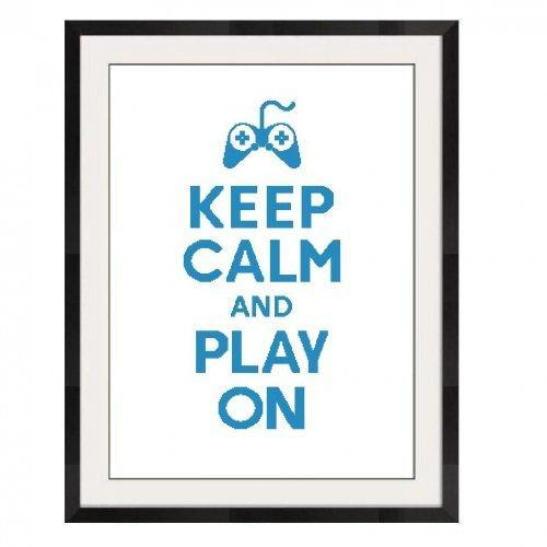ALL STITCHES - PLAY ON CROSS STITCH PATTERN .PDF - PICK LARGE OR MEDIUM -572