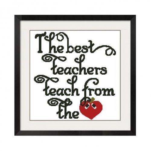 ALL STITCHES - BEST TEACHERS CROSS STITCH PATTERN .PDF -461