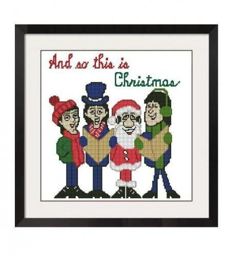 ALL STITCHES - THE BEATLES CHRISTMAS CROSS STITCH PATTERN .PDF -307