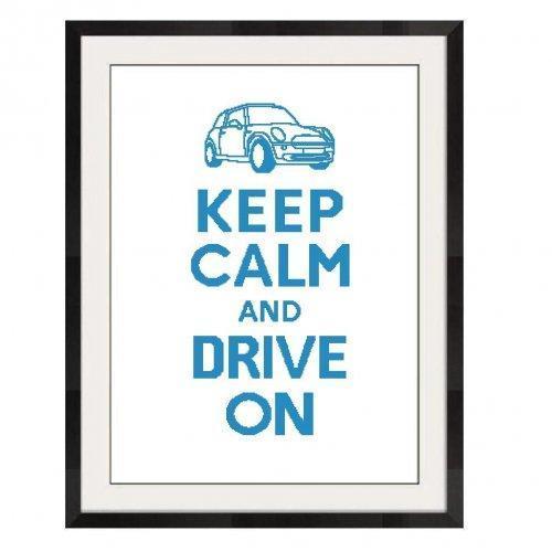 ALL STITCHES - DRIVE ON CROSS STITCH PATTERN .PDF - PICK LARGE OR MEDIUM -517