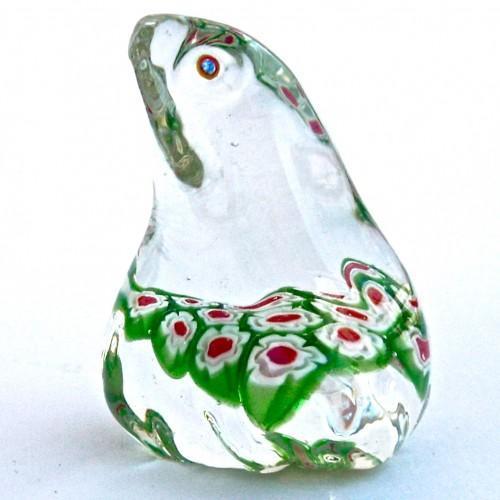 Murano Art Glass  Frog Figurine - Vintage 1980s