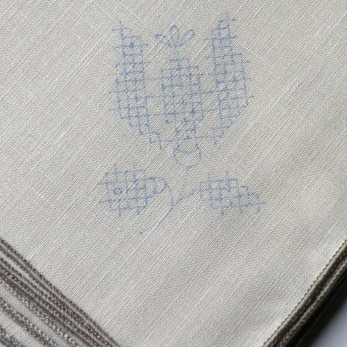 Vintage Tulip Napkin Embroidery Kit
