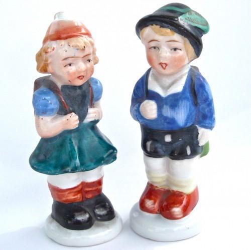 Vintage 50s Figurine Set - Made in Occupied Japan