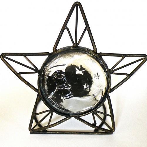Vintage Celestial Candle Holder