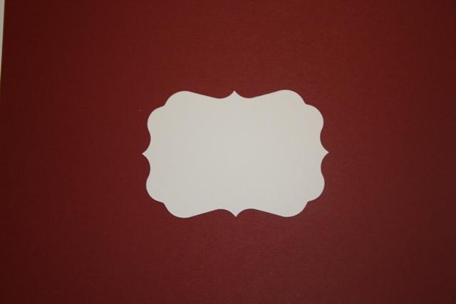 15 small  Burgandy Fancy mats to make tags mini albums and journals spots M36