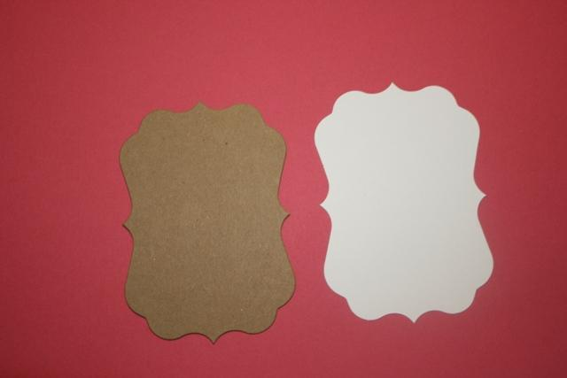 Small Bright Rose Fancy chipboard and mats to make a mini album CM202