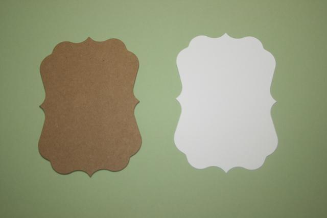 Small Light  Meadow Green Fancy chipboard and mats to make a mini album CM213