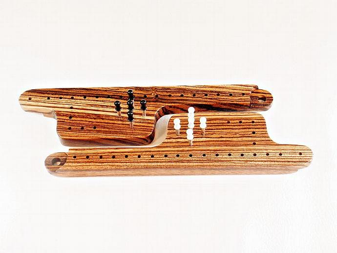 Pegs & Jokers Expansion Set - Zebrawood