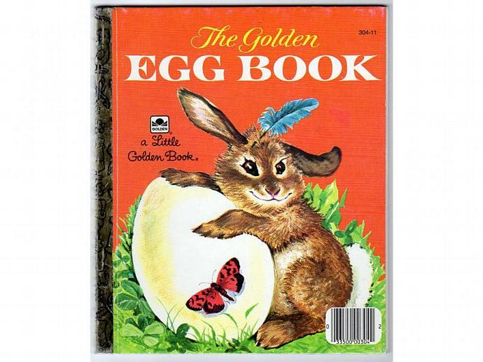 The Golden Egg Book 304-11 Vintage 1970s Little Golden Book Kids