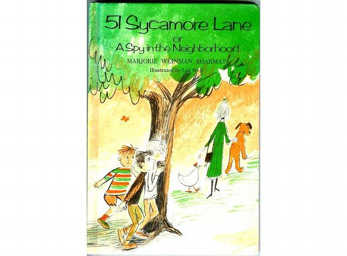 51 Sycamore Lane Childrens Book by Marjorie Weinman Sharmat Spy in the
