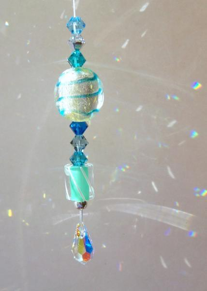 "Sun Catcher Mini - ☼Sparkler☼ -""Blue Ice"""