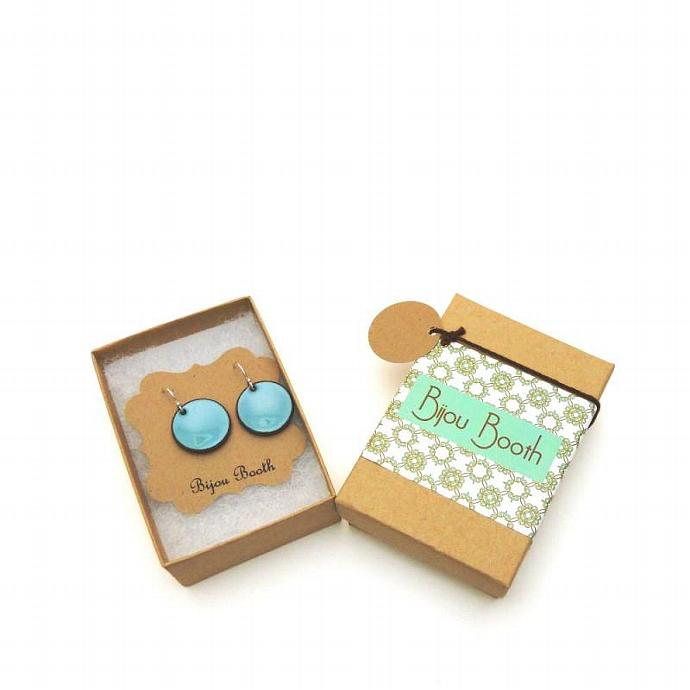 Evergreen Penny Earrings