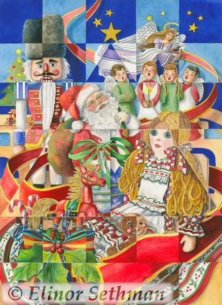 Kaleidoscope Of Christmas Past