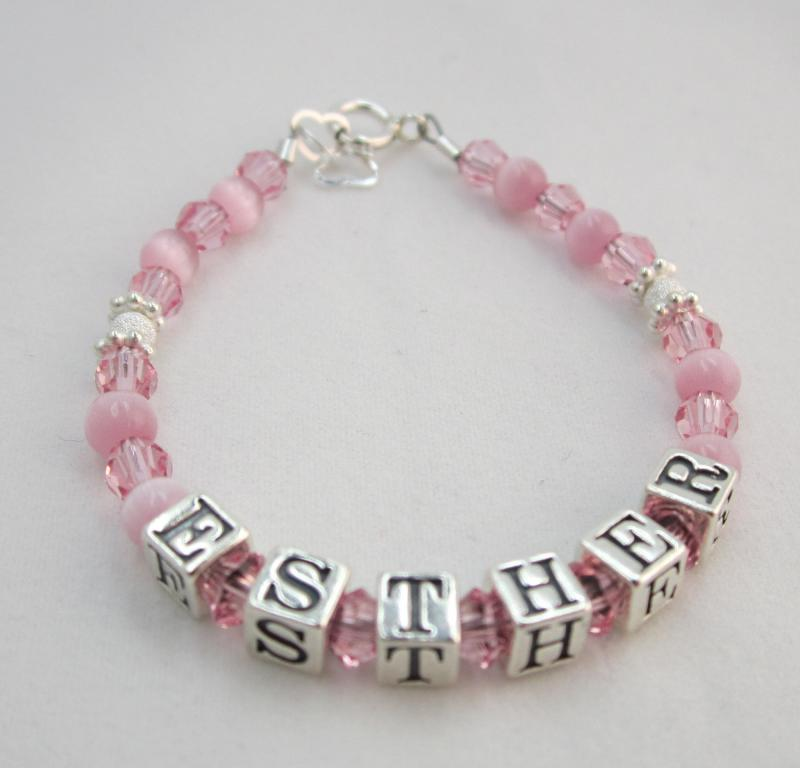 letter logo alphabet beads name disc imprint custom examples
