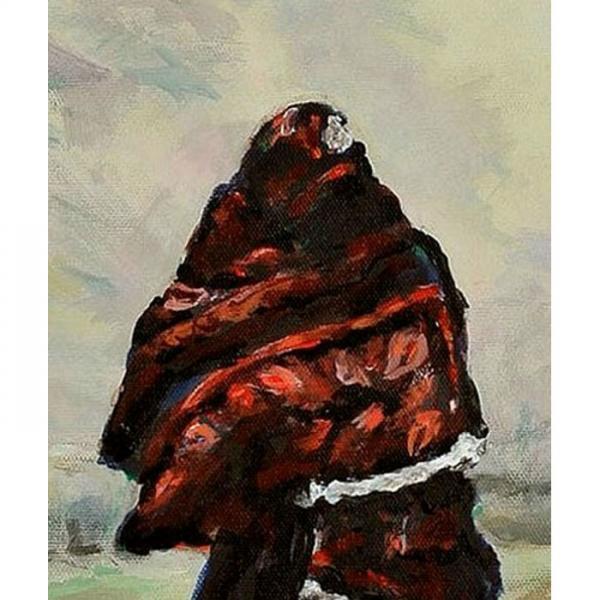 In Afghanistan (An Original Painting)