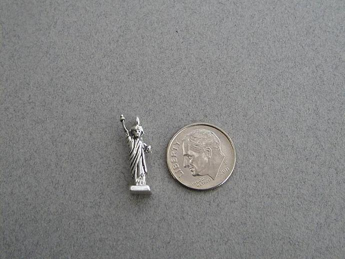 Statue of Liberty SS Charm