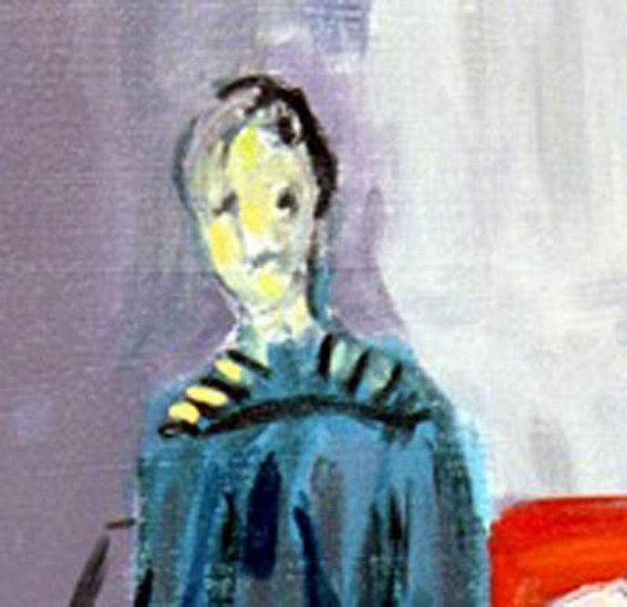 Homage To Matisse (Abstract of a  Woman)