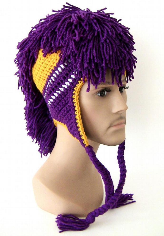 Modern Crochet Mohawk Hat Pattern Image Collection - Decke Stricken ...