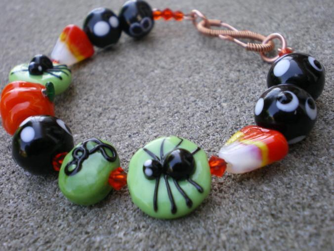 Happy Halloween Bracelet Set
