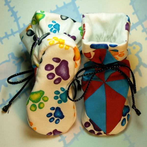 Terra Verde Tv Baby Bootie Sewing Pattern Lilbabythangs