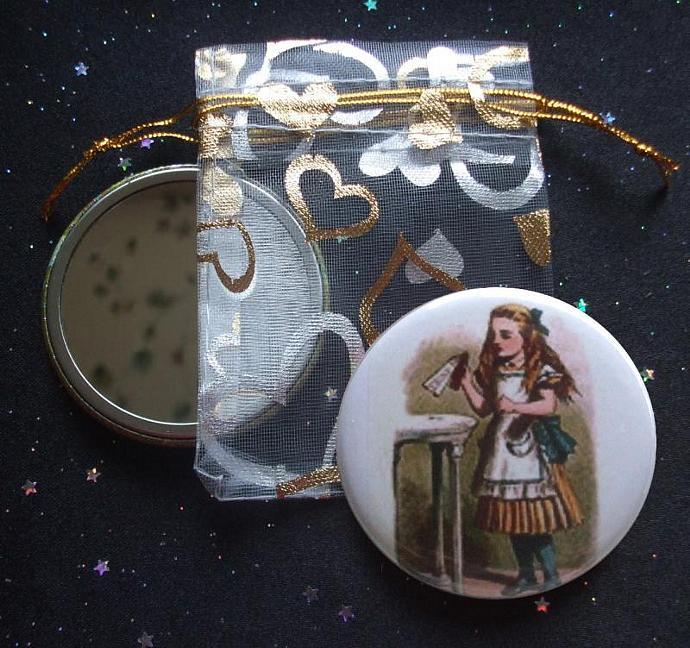 Alice from Alice's Adventures in Wonderland Pocket Mirror