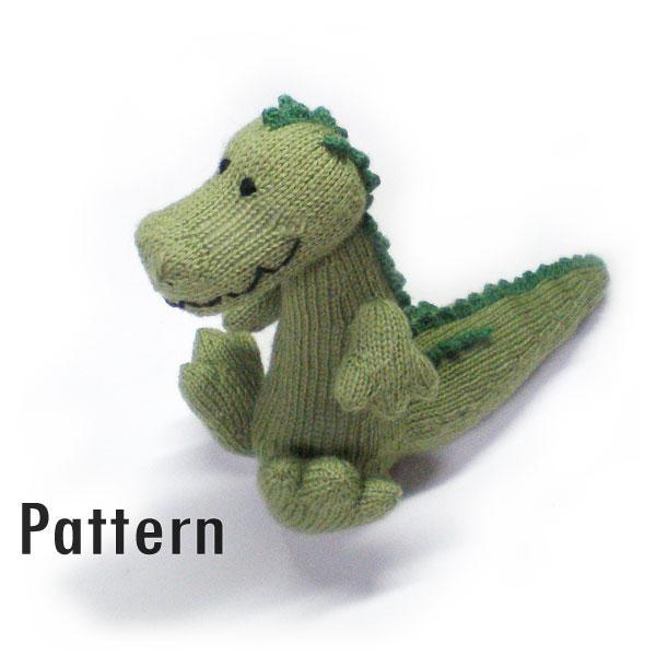 Magda The Cuddlesome Crocodile Knitted And Morrgan