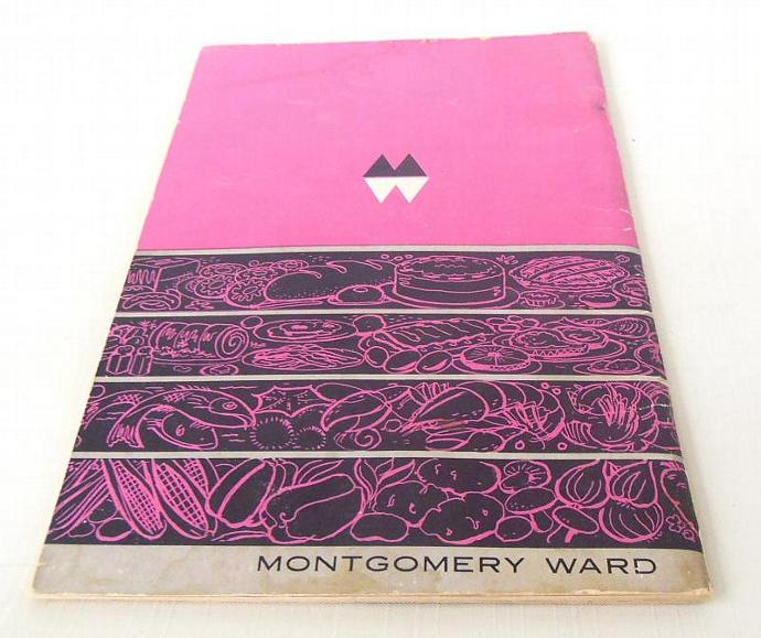 Montgomery Ward Roaster Oven Owner Instruction Manual Recipe Book - Vintage
