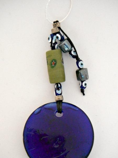 Nazar Blue Evil Eye Amulet Wall Hanging