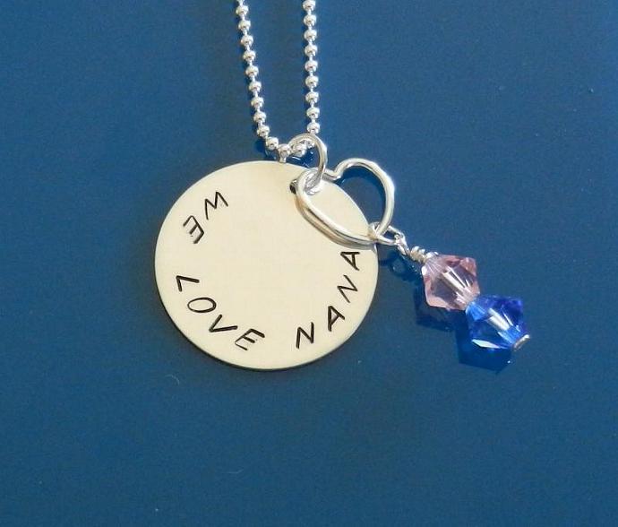 JUNE - Charm; Swarovski Element Crystals, Handmade Charms
