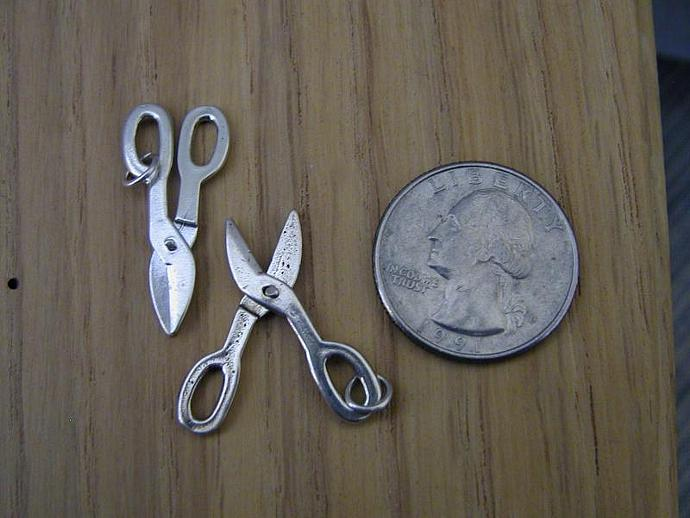Scissors/Shears SS Charm
