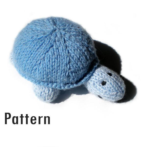 Sven the Turtle - Knitted and Crocheted Toy PDF | Morrgan