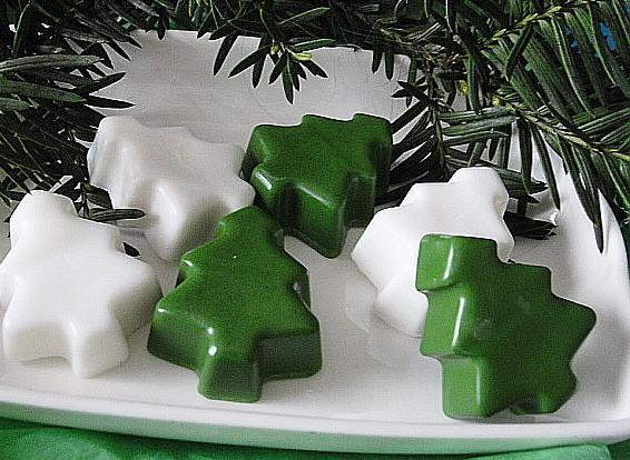 Forest Trees-  Snowmen-Guest Soaps--Frankincense Myrrh--Winter Woods-YOU Choose