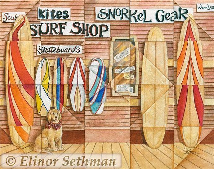 Kaleidoscope Surf Shop 2