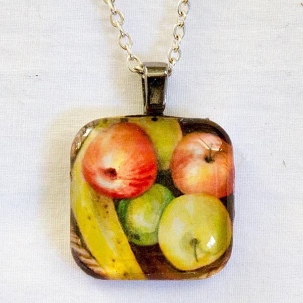 Banana And Apples Pendant