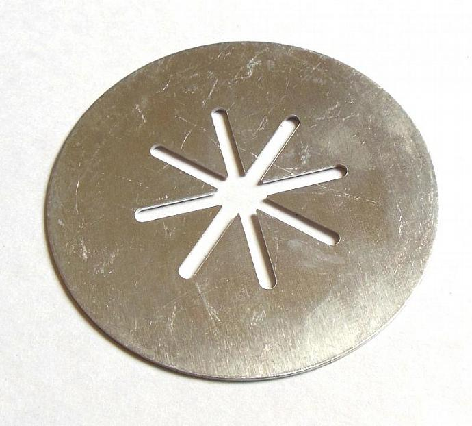 Wearever Super Shooter Cookie Press Disk Replacement Part Snowflake