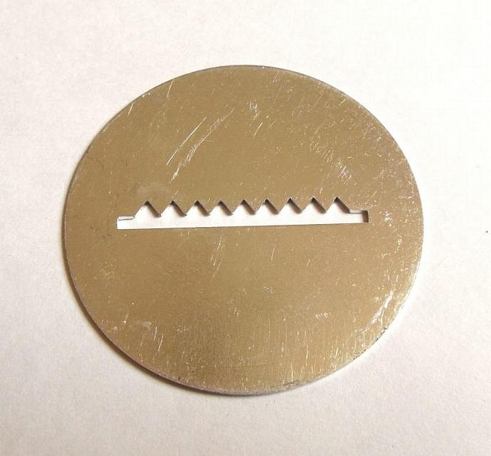 Wearever Super Shooter Cookie Press Disk Replacement Part Cookie Bar